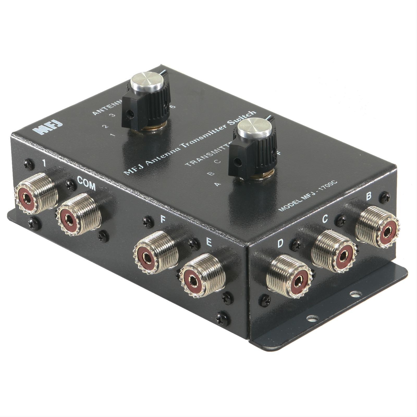 MFJ 1700C Antenna Switches MFJ-1700C