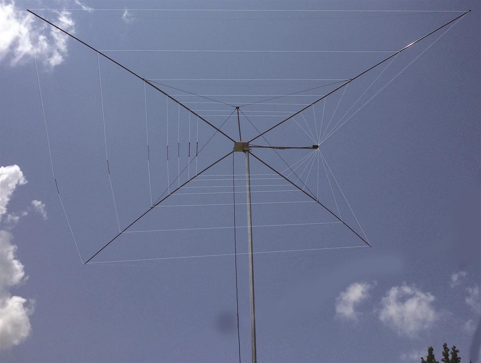 MFJ HF Cobweb Wire Dipole Antennas MFJ-1835HK34 - Free