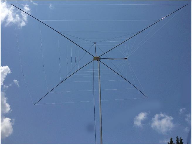 MFJ HF Cobweb Wire Dipole Antennas MFJ-1838