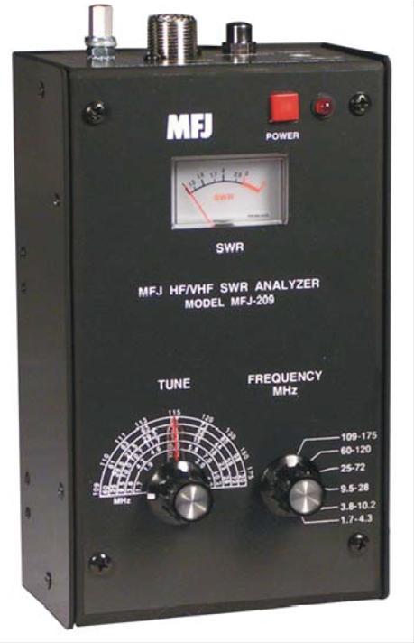 MFJ-209 SWR Analyzers MFJ-209 - Free Shipping on Most Orders