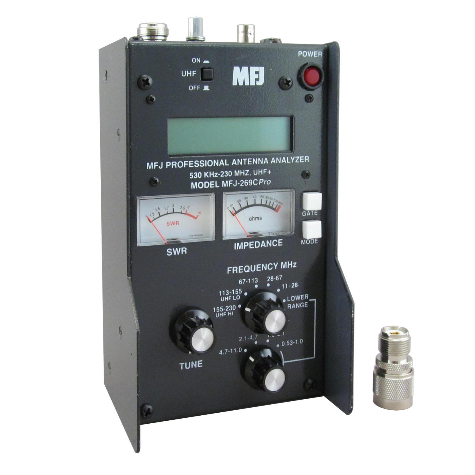 269: MFJ 269C Pro RF Analyzers MFJ-269CPRO