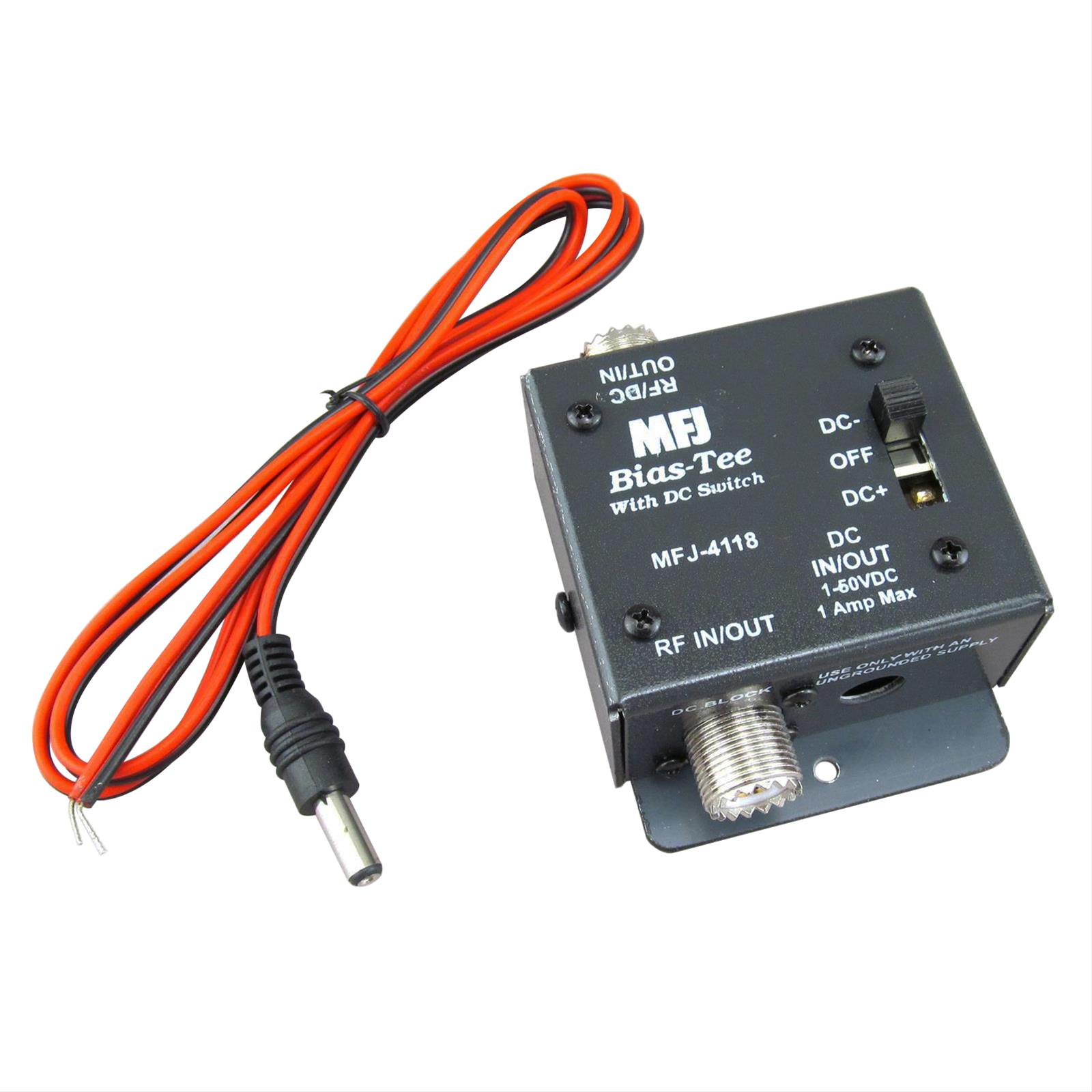 Mfj 4118 Bias Tee Dc Power Injectors Free Shipping On Antenna Injector Schematic Most Orders Over 99 At Dx Engineering