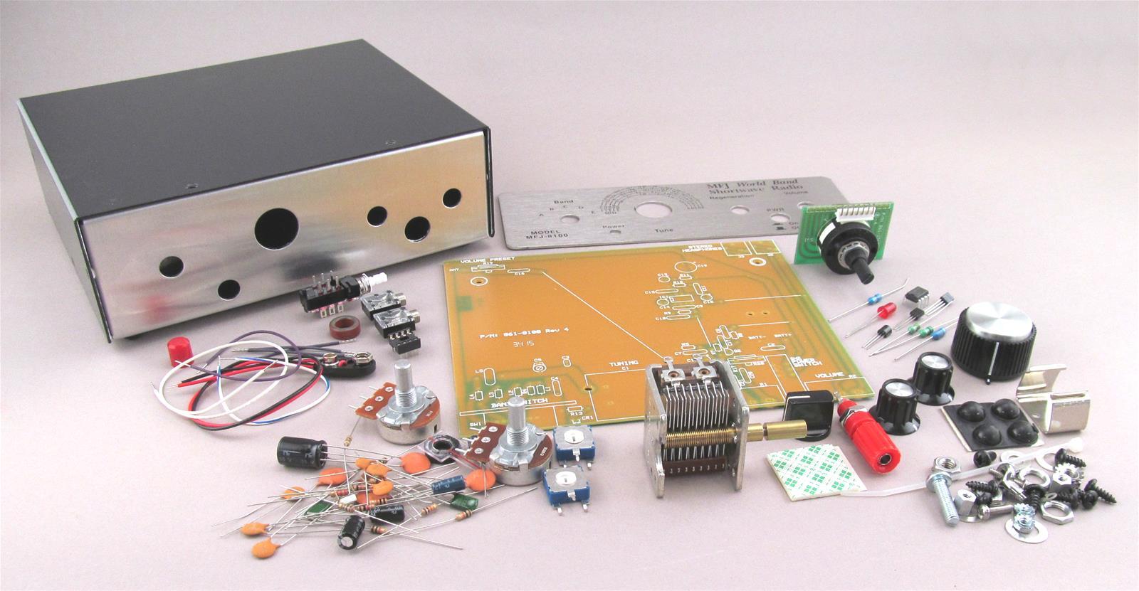 MFJ 8100K World Band Receiver Kits MFJ-8100K
