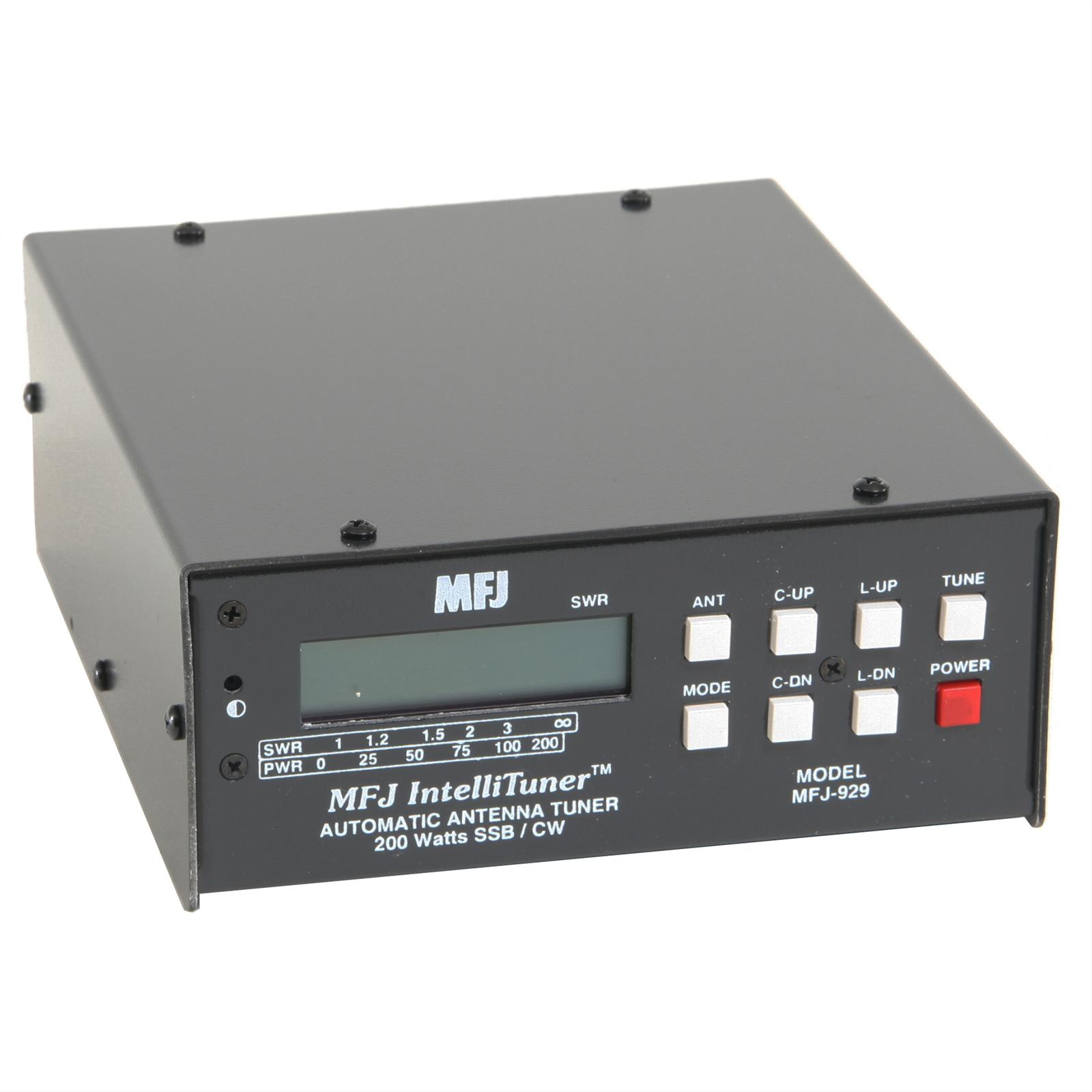 Mfj 929 Compact Intellituner Automatic Antenna Tuners Tuning Unit Free Shipping On Most Orders Over 99 At Dx Engineering