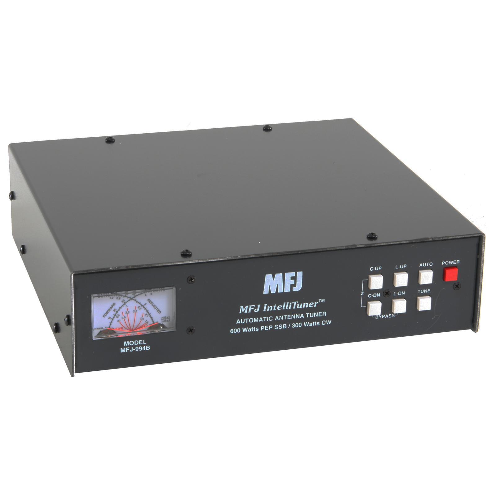 Watt Draw Meter: MFJ 994B IntelliTuner™ Automatic Antenna Tuners MFJ-994B