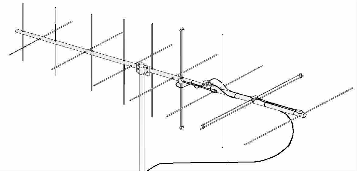 M2 Antennas 2MCP14 2 Meter Circularly Polarized Beams 2MCP14