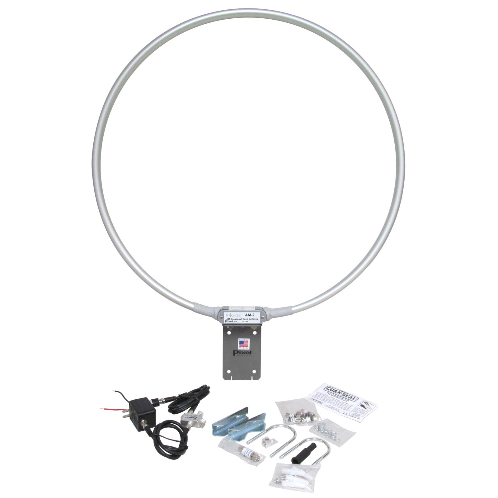 Pixel Technologies AM-2 Amplified Shielded Magnetic Loop Antennas AM
