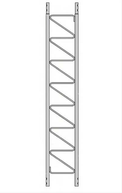 "ROHN SB25G Short Base Section 3/'ft 4/"" inch for ROHN 25G Tower Installation"