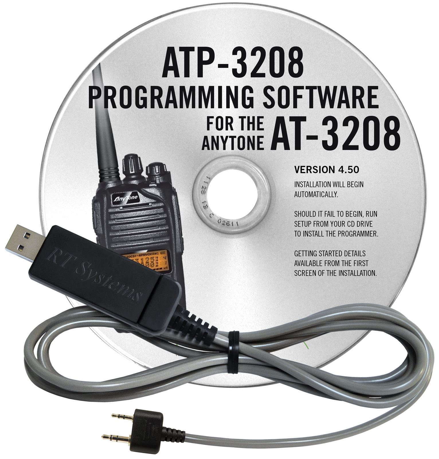 RT Systems Radio Programming Software ATP-3208-USB