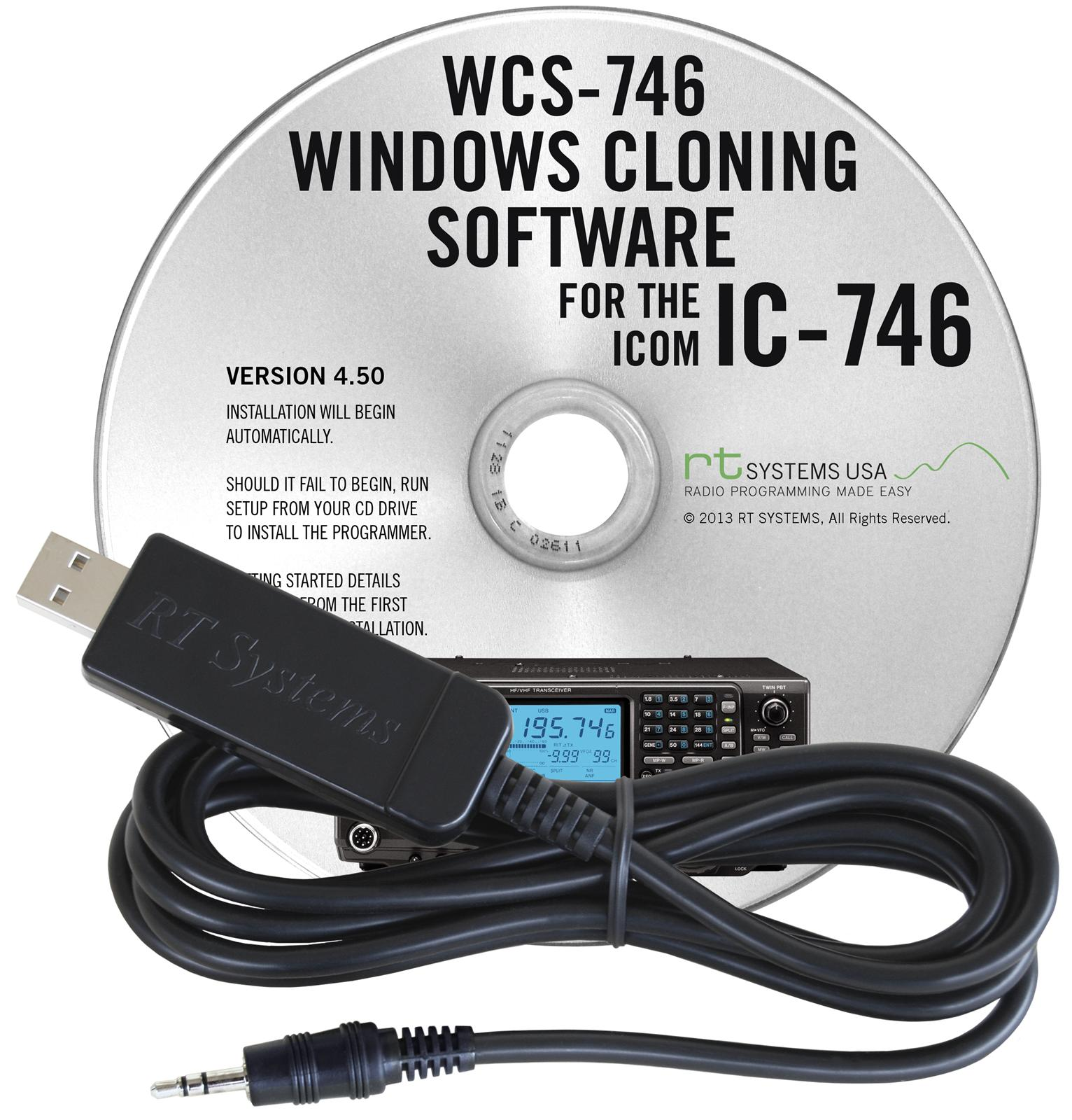 RT Systems Radio Programming Software WCS-746-USB