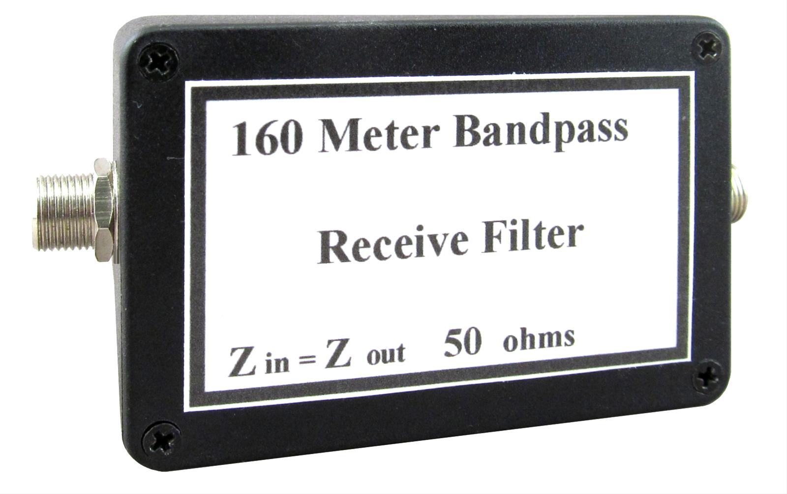 KD9SV Products SV-BPF 160 Meter Band-Pass Receive Filters SV-BPF