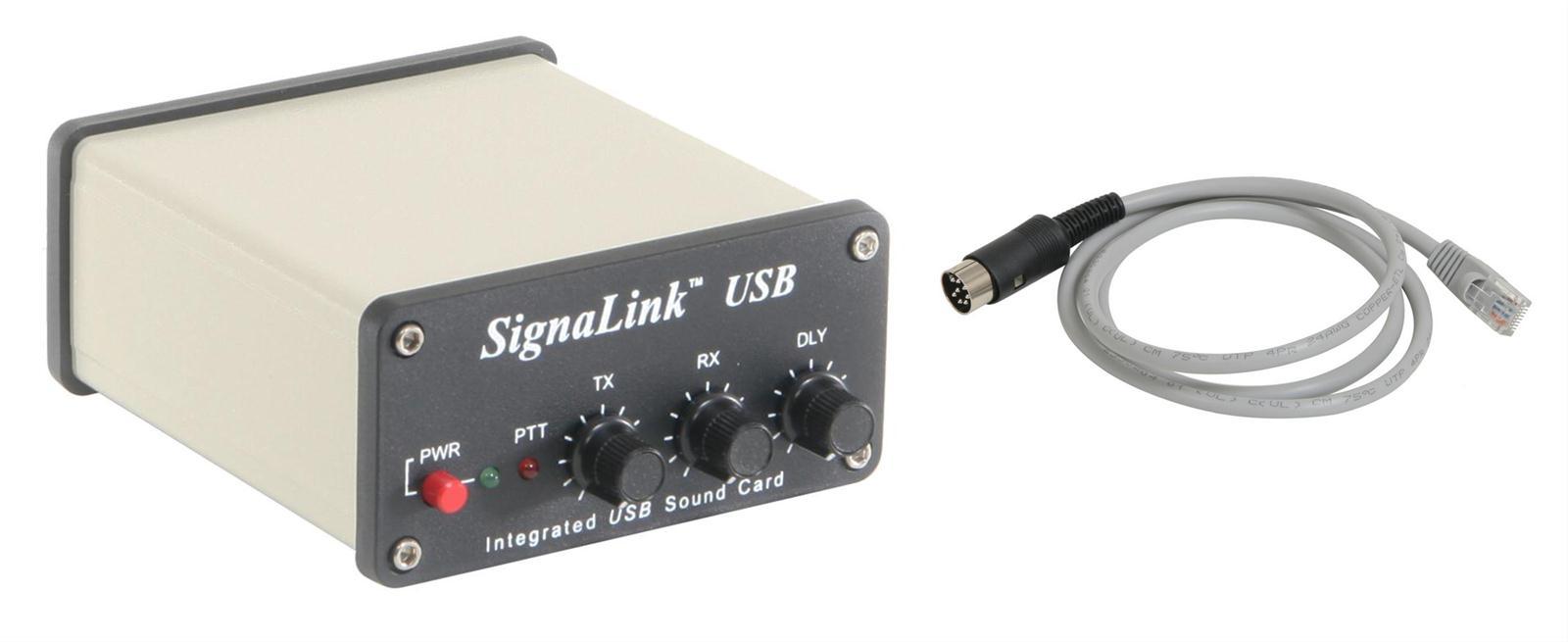 Tigertronics SignaLink™ USB Digital Communications Interface Combos  SLUSB8R-P