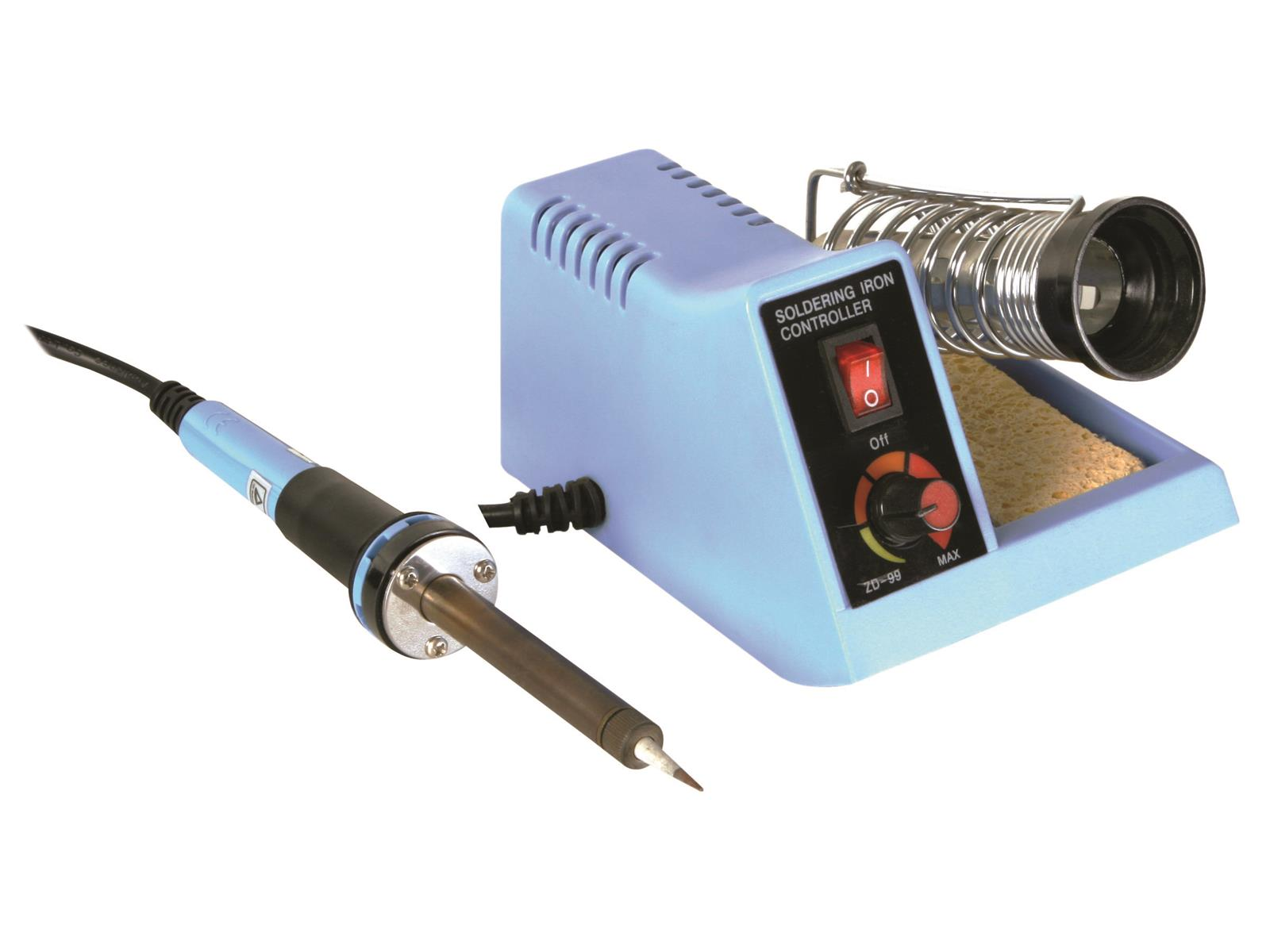 Whats The Best Soldering Iron For Small Electronics Slant Weller Wlc 100 Temperature Controlled Station