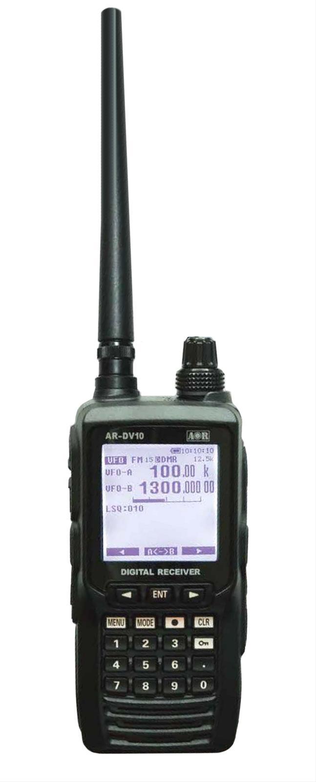 Yaesu AR-DV10 SDR Handheld Receiver AR-DV10 - Free Shipping