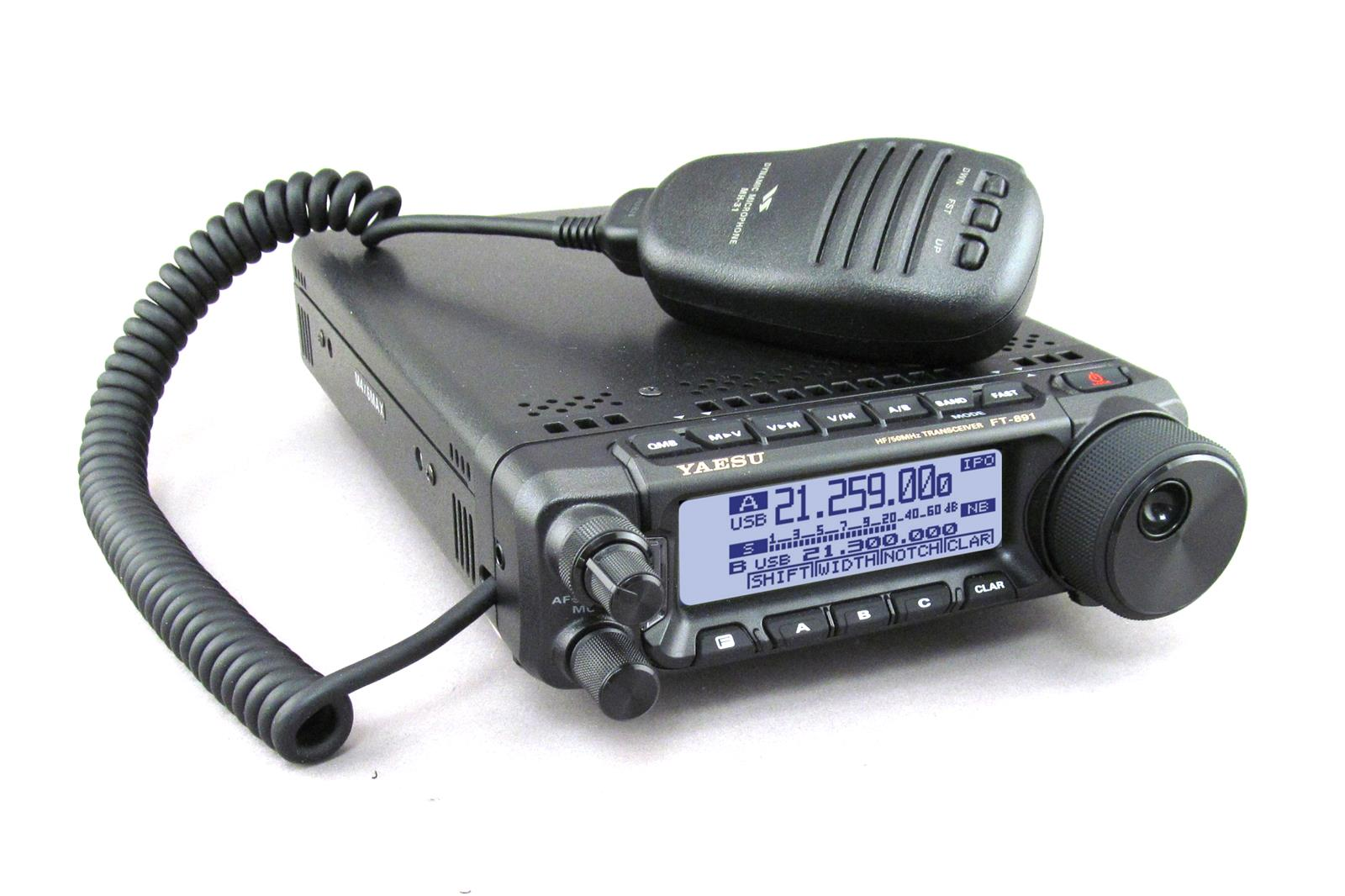 Yaesu FT-891 HF/50MHz All Mode Mobile Transceivers FT-891 - Free Shipping  on Most Orders Over $99 at DX Engineering
