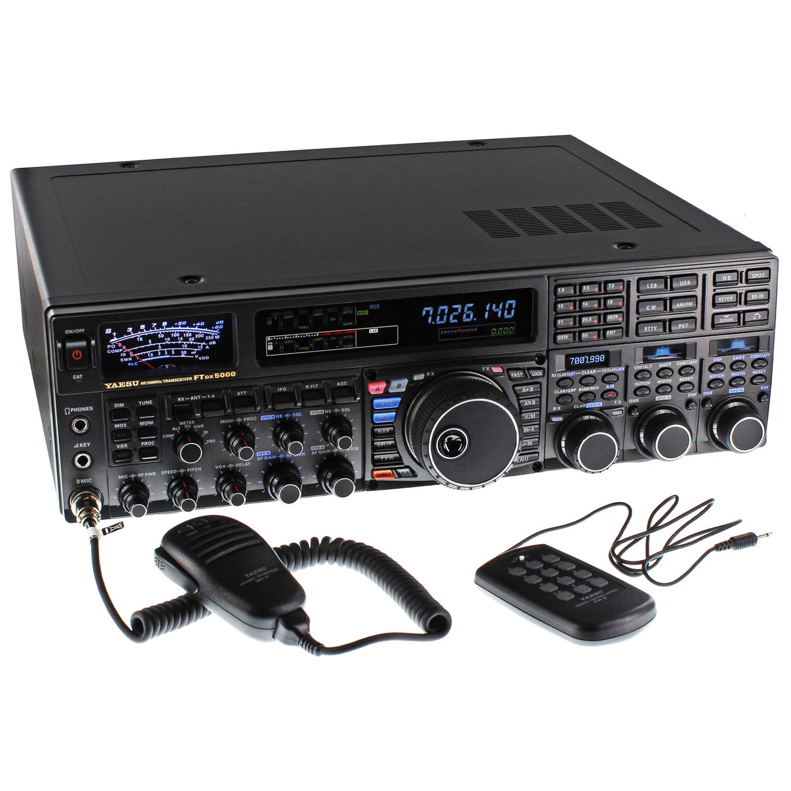 Yaesu Ftdx 5000mp Limited Hf 50 Mhz Transceivers Ftdx 5000mpl Free Shipping On Most Orders Over 99 At Dx Engineering